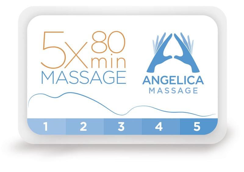 Massør Aarhus - Angelica Massage - Klippekort til massage