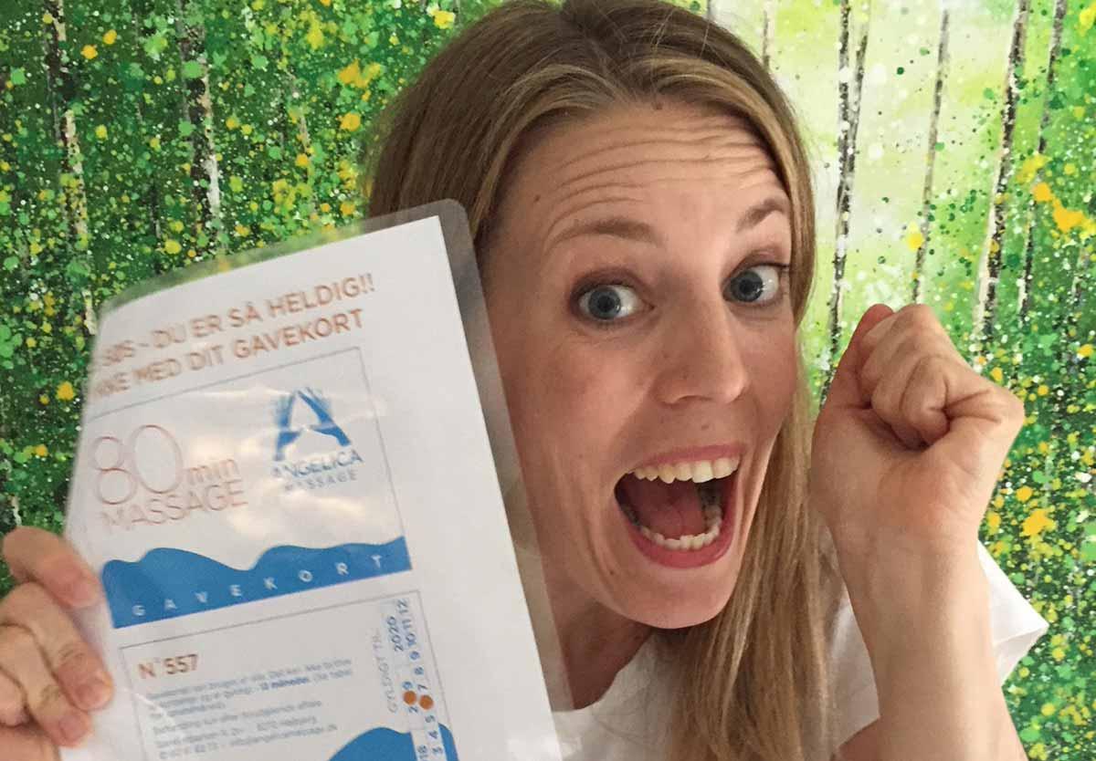 Angelica Massage Aarhus - Lodtrækning om gavekort