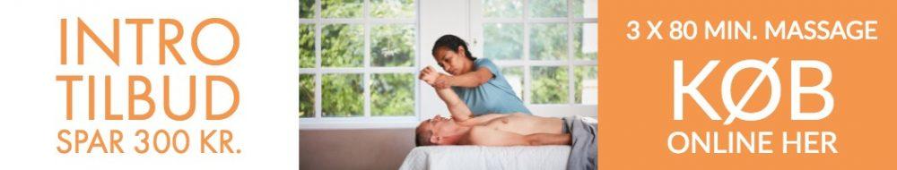 Angelica Massage Aarhus Intro tilbud