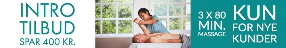 Angelica Massage Aarhus - Intro tilbud
